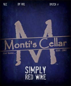Montis Cellar Simply Red
